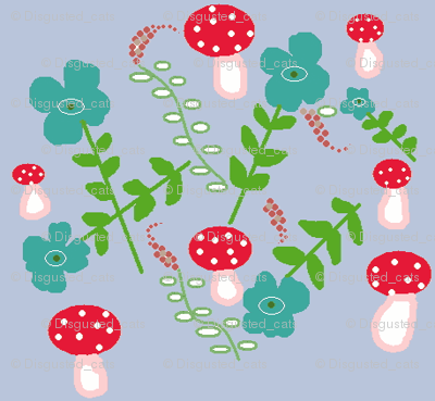 Periwinke Mushrooms