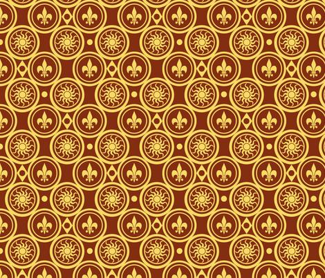 Henricus fabric by poetryqn on Spoonflower - custom fabric