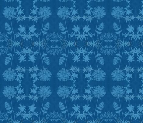 solar print flowers fabric by weavingmajor on Spoonflower - custom fabric