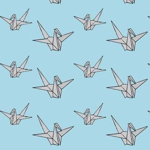 Silver Cranes