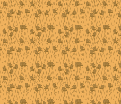 Tall Lawn Chairs fabric by mudstuffing on Spoonflower - custom fabric
