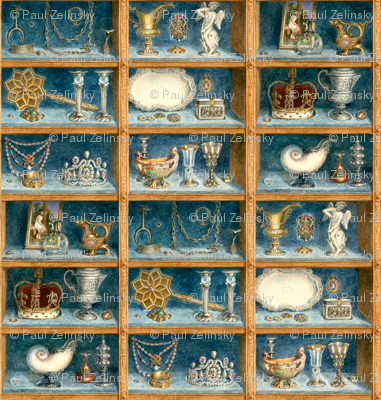 The Enchanted Castle endpapers