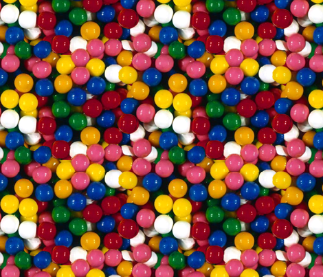 Gumballs fabric by rebeccamakesthis on Spoonflower - custom fabric