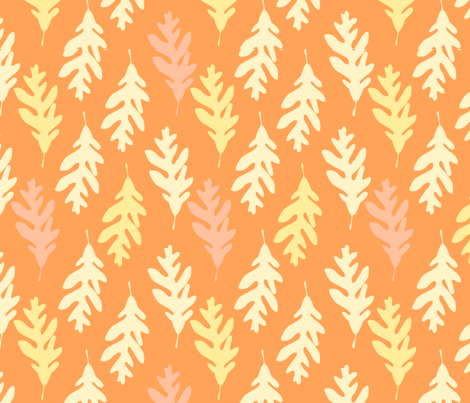 Autumn_Oak fabric by linesmith on Spoonflower - custom fabric