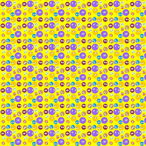 Polka Dots with eyes
