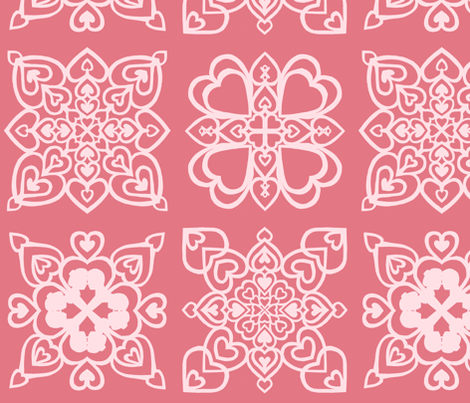 vll_cut_paper_valentine_collage_1-ch fabric by victorialasher on Spoonflower - custom fabric