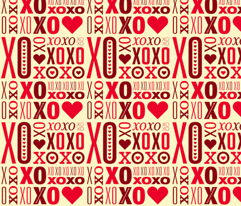 i heart type fabric by studio_tm on Spoonflower - custom fabric