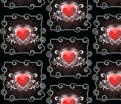 Crazy Love fabric by lacefairy on Spoonflower - custom fabric