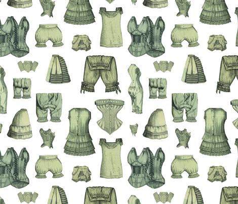 Underthings fabric by mouo on Spoonflower - custom fabric