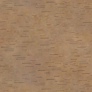 birch bark - dark brown