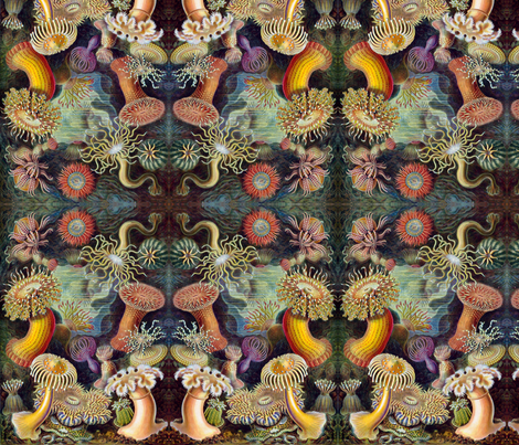 anemones fabric by mouo on Spoonflower - custom fabric