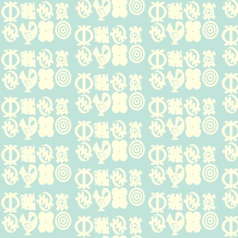 Adinkra Elegance-156 fabric by kkitwana on Spoonflower - custom fabric