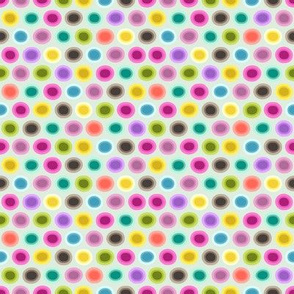 small candy gouttelette polka