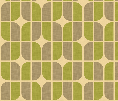 four leaf mossy fabric by holli_zollinger on Spoonflower - custom fabric