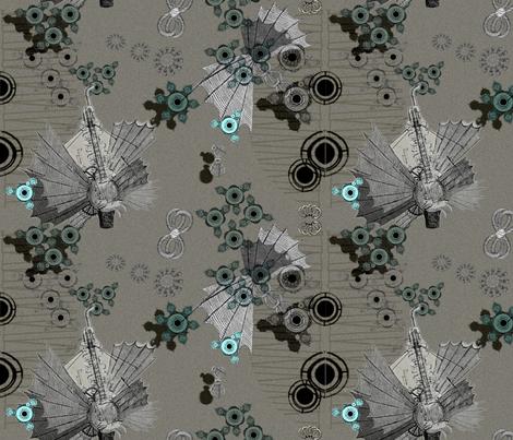 Dream machine fabric by mandyh on Spoonflower - custom fabric