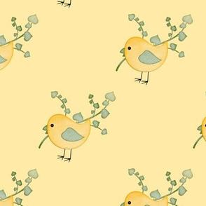 Country Craft Bird Yellow