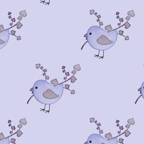 Country Craft Bird Blue