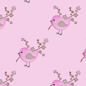 Country Craft Bird Purple