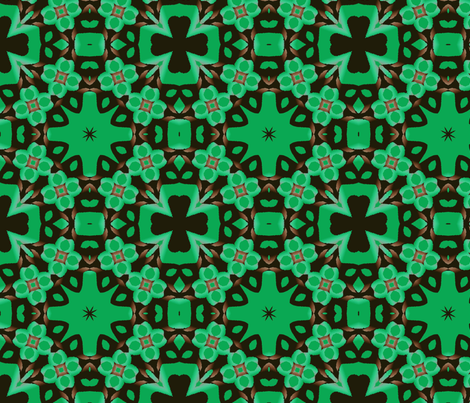 Four Leaf Clover fabric by fit2betied on Spoonflower - custom fabric