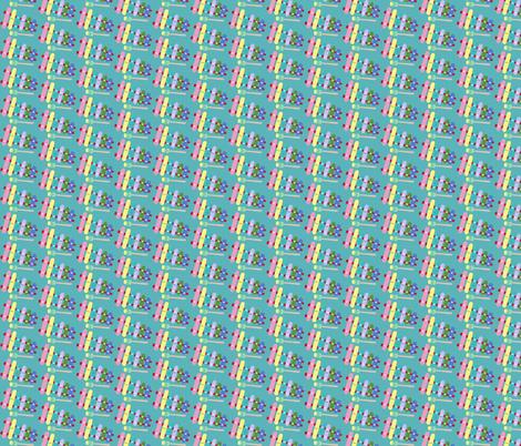 xylophone  fabric by heidikenney on Spoonflower - custom fabric