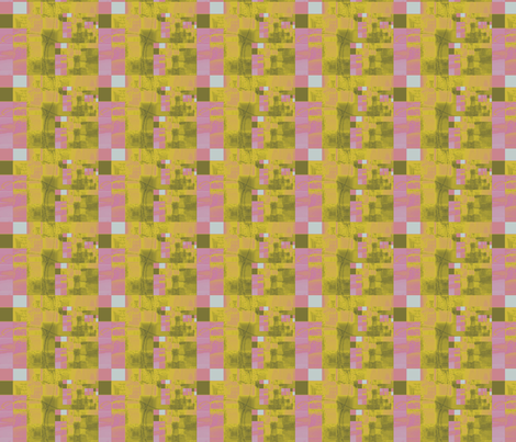 Small Pink Boxes fabric by karendel on Spoonflower - custom fabric