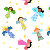 Bright Cheerful Angels