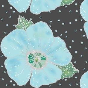 hawaiin floral ice
