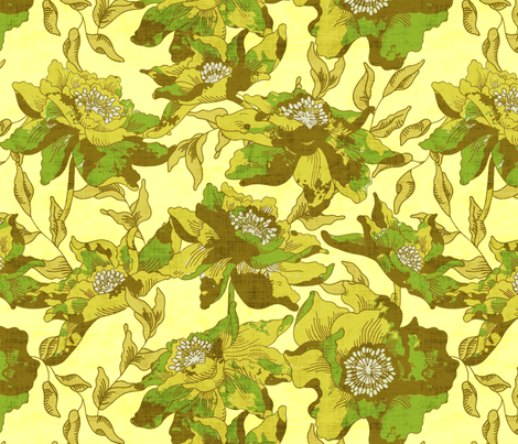 country boheme linen fabric by holli_zollinger on Spoonflower - custom fabric