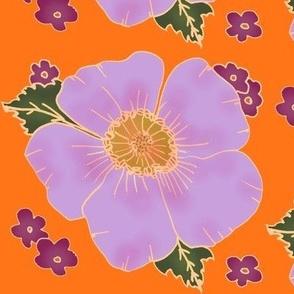 hawaiin floral pink
