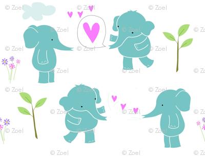 Sweetheart Elephants -ed
