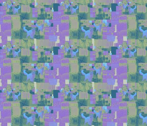 Blue Somalis n' Boxes fabric by karendel on Spoonflower - custom fabric