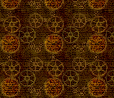 Gear up! fabric by vo_aka_virginiao on Spoonflower - custom fabric