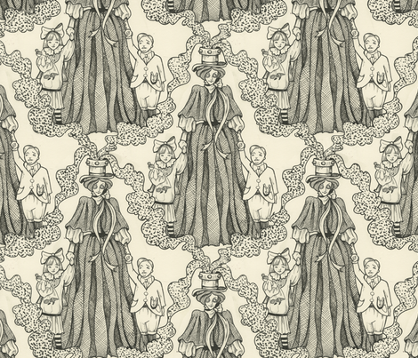 Nanny Toggleswitch fabric by ceanirminger on Spoonflower - custom fabric