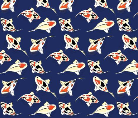 Koi Pond fabric by dorolimited on Spoonflower - custom fabric