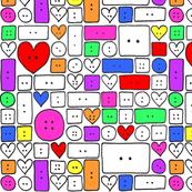 Cute as a Button 13/20 bit of colour