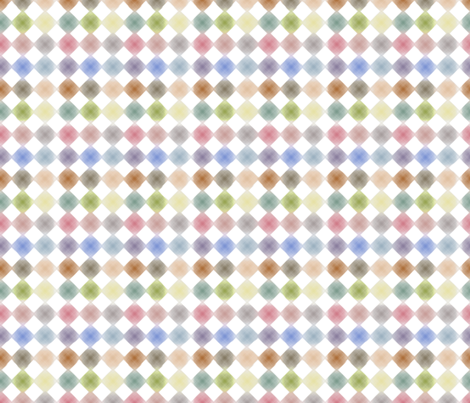 Fleur Diamonds fabric by kristopherk on Spoonflower - custom fabric