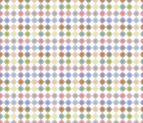 Fleur Diamonds fabric by kristopherk on Spoonflower - custom fabric