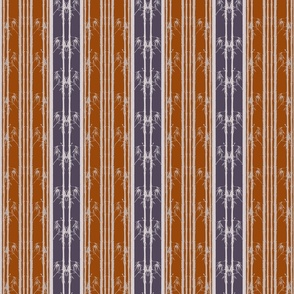 Bamboo_wainscot_orange_and_purple
