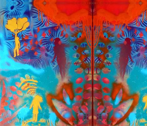 Isabella_Barna-ed fabric by isabella_ on Spoonflower - custom fabric