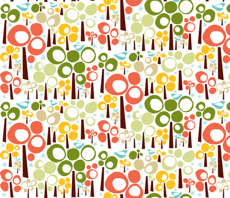 boba_nature fabric by gaiacreative on Spoonflower - custom fabric