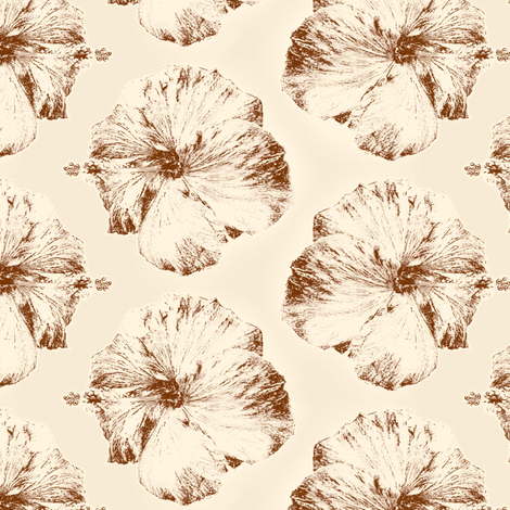 Aloha - Natural fabric by kristopherk on Spoonflower - custom fabric