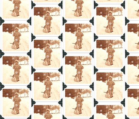 Snow Day fabric by disgusted_cats on Spoonflower - custom fabric