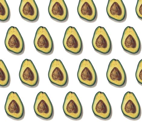 best avocado  fabric by saltlabs on Spoonflower - custom fabric