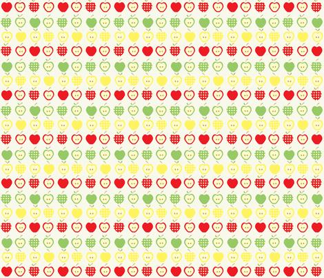 Apples Jack fabric by kiwicuties on Spoonflower - custom fabric