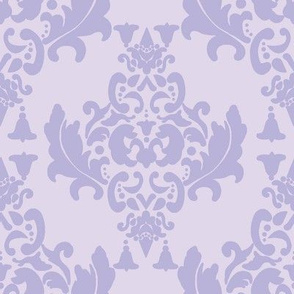 Delicious Damask in Lavender