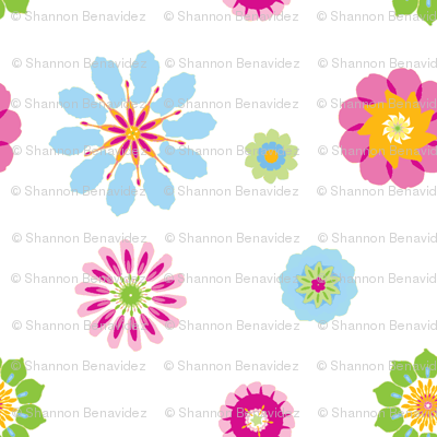 Zee Flowers of Summer