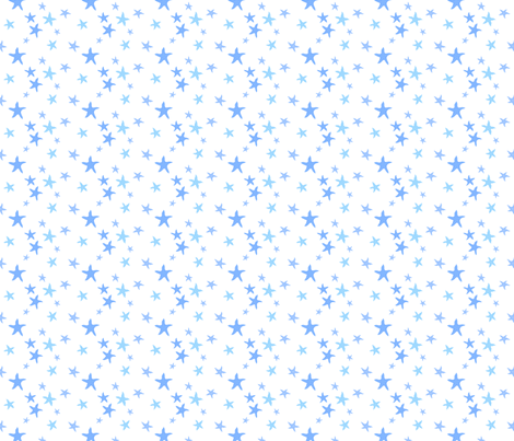 stars fabric by thelazygiraffe on Spoonflower - custom fabric