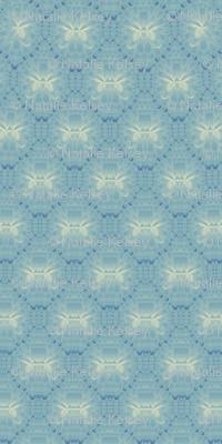 Lotus Kaleidoscope-- Blue 1