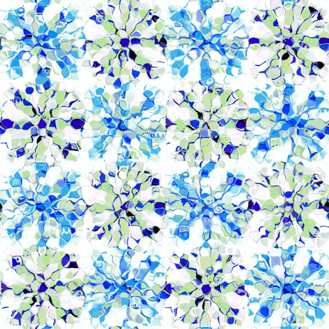 Blueberry Ice fabric by kristopherk on Spoonflower - custom fabric