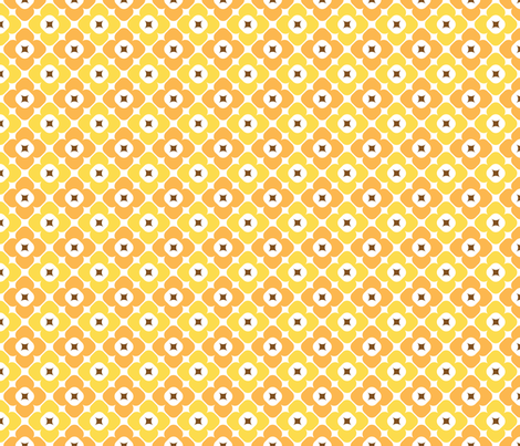 Molly in primrose fabric by onelittlebird on Spoonflower - custom fabric